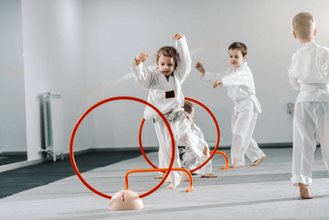 Kidsbirthday, Gracie Largo Jiu Jitsu